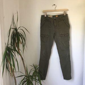Anthropologie Olive Pocket Pants